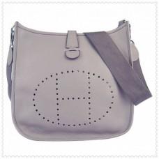 Hermes Evelyne III Bags Grey