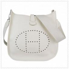 Hermes Evelyne III Bags White