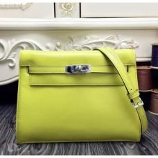 Hermes Kelly Danse Bags In Yellow Swift Leather
