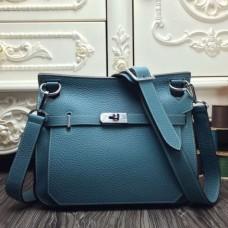 Hermes Blue Jean Large Jypsiere 34cm Bags