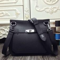 Hermes Black Large Jypsiere 34cm Bags