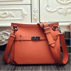 Hermes Orange Large Jypsiere 34cm Bags