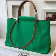 Hermes CaBags Elan Bags In Bamboo Canvas