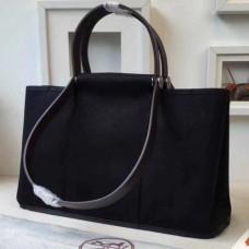 Hermes CaBags Elan Bags In Black Canvas