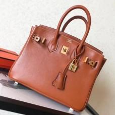 Hermes Gold Swift Birkin 25cm Handmade Bags