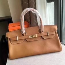Hermes Brown JPG Birkin 42cm Shoulder Bags