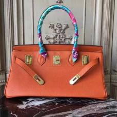 Hermes Orange JPG Birkin 42cm Shoulder Bags