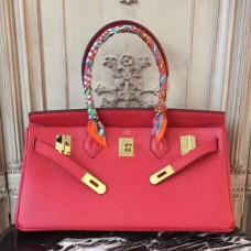 Hermes Red JPG Birkin 42cm Shoulder Bags