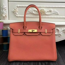 Hermes Birkin 30cm 35cm Bags In Crevette Clemence Leather