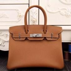 Hermes Birkin 30cm 35cm Bags In Brown Epsom Leather