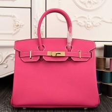 Hermes Birkin 30cm 35cm Bags In Rose Red Epsom Leather