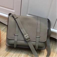Hermes Grey Steve 35 Messenger Bags