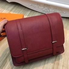 Hermes Ruby Steve 35 Messenger Bags