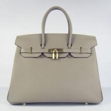 Hermes Birkin 30cm 35cm Bags In Grey Togo Leather