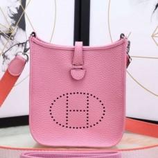 Hermes Pink Evelyne II TPM Messenger Bags