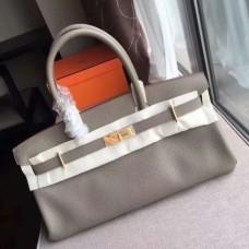 Hermes Grey JPG Birkin 42cm Shoulder Bags
