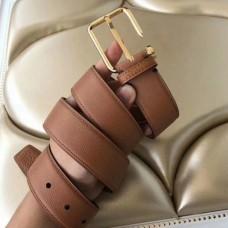 Hermes Lennox 40 MM Belt In Brown Epsom Leather