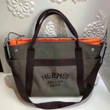 Hermes Khaki Functional Grooming Bags