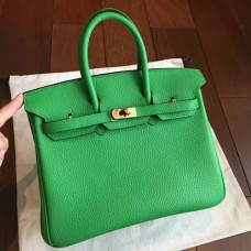 Hermes Bamboo Clemence Birkin 25cm Handmade Bags