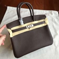Hermes Cafe Clemence Birkin 25cm Handmade Bags