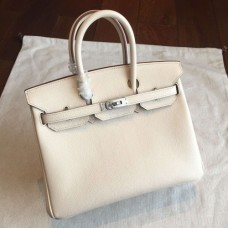 Hermes Beige Epsom Birkin 25cm Handmade Bags