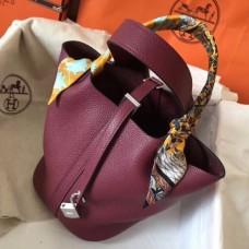Hermes Ruby Picotin Lock PM 18cm Handmade Bags