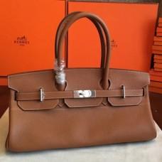 Hermes Brown JPG Shoulder Birkin 42cm Bags