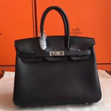 Hermes Black Swift Birkin 30cm Handmade Bags