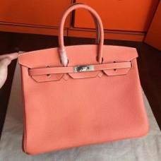 Hermes Crevette Clemence Birkin 35cm Handmade Bags