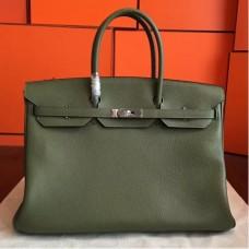 Hermes Canopee Clemence Birkin 40cm Handmade Bags