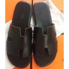 Hermes Black Swift Izmir Sandals
