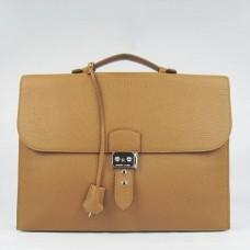Hermes Brown Sac A Depeches 38cm Briefcase Bags