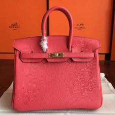 Hermes Bougainvillier Clemence Birkin 25cm Handmade Bags