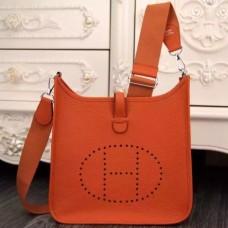 Hermes Orange Evelyne III PM Bags