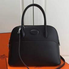Hermes Bolide 31cm Bags In Black Swift Leather
