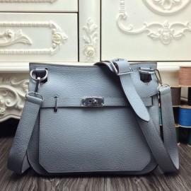 Hermes Blue Lin Large Jypsiere 34cm Bags